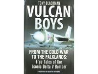 Vulcan Boys by Tony Blackman NEW