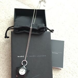 Authentic marc by marc hacob necklace watch