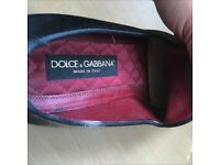 Authentic men's dolce & gabbana shoes