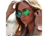 Genuine Aviator Rayban Mirror sunglasses