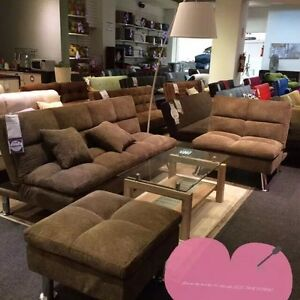 huge sale on click clack, sectionals, sofas, recliners, bedrooms