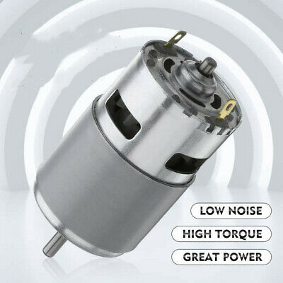 775 Dc 12v-36v 3500-9000rpm Motor Brushed Large Torque High Power Low Noise A0x4