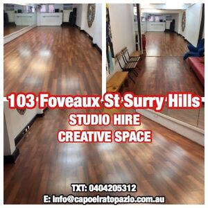 Creative Space for hire Surry Hills Inner Sydney Preview
