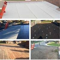 Flat Roofing Repairs, Removal, New Installment & Inspections.