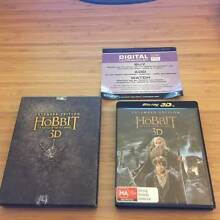 The Hobbit: the Battle of the Five Armies 3D + Blu Ray + Ultra V Blackburn Whitehorse Area Preview