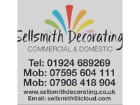 Sellsmith Decorating services - Professional experienced team of decorators