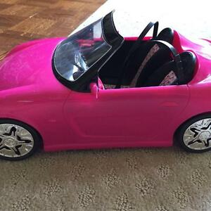 Barbie sports car