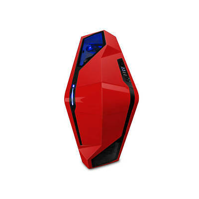 NZXT PHANTOM 410 No Power Supply ATX Mid Tower (Red)
