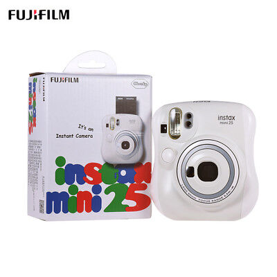 Fuji Instax Mini 25 Instant Film Camera (White) NEW IN BOX