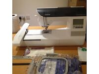 Embroidery Machine Brother Innovis 750E - used twice due to a lack of time