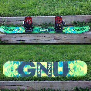 GNU smart pickle snowboard Warragul Baw Baw Area Preview