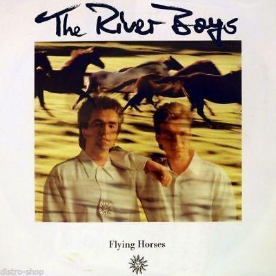 "7"" THE RIVER BOYS Flying Horses / Still Lovin' You BERND SCHÜTZ CRYPTON WEA 1991"