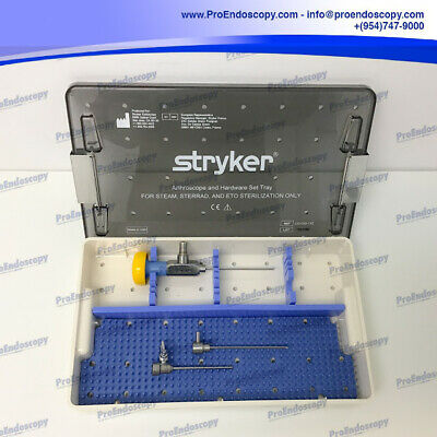 Stryker 502-123-030 2.7mm 30 Degrees Small Joint Arthroscope Wcannula Set