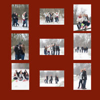 $40 Christmas/Winter mini sessions at Victoria park