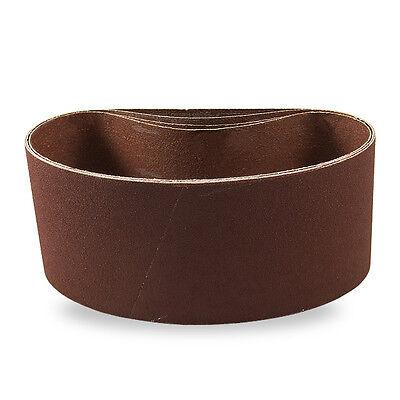 2 X 48 Inch 120 Grit Metal Grinding Zirconia Sanding Belts 6 Pack