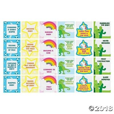 Baby Shower Charades (BABY SHOWER CHARADES GAME Party Supplies Activity Boy Girl Neutral)