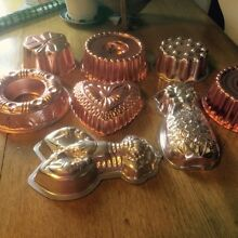 Jelly moulds- vintage collection Meadowbank Ryde Area Preview