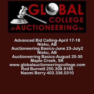 Auctioneering Course