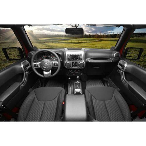 Rugged Ridge Interior Trim Accent Kit Charcoal Auto 11-18 2-Dr11157.91