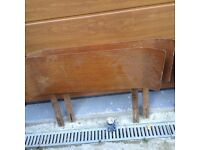Two single bed headboards - 1960's style