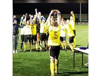Saturday league men's football team looking for new players - East Herts League