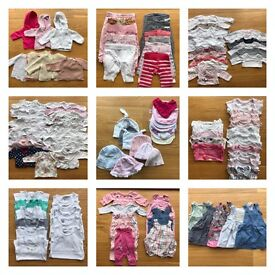 Girl baby bundle 0-3 months