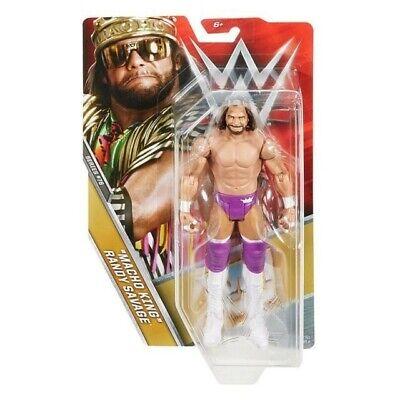 WWE Basic Wrestling Action Figure Macho Man Mattel