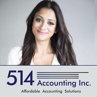 Corporate Tax,GST/QST,Bookkeeping FREE CONSULTATION 514 712-3851