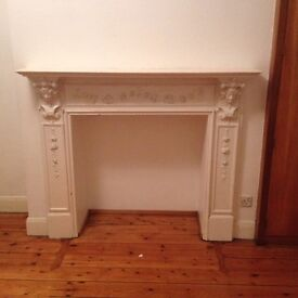 Original Period Fireplace Surround White, offers invited