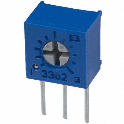 Bourns 3362 Series Trimmer Potentiometer Trimpot 10 Ohms Side Adjust