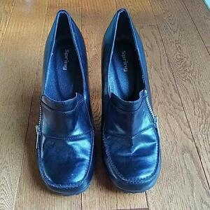 Brand New Black Spring Shoes, Size 36 Kitchener / Waterloo Kitchener Area image 2