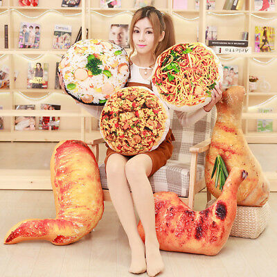 - plush toy Chicken leg chick wing drumstick fried rice noodles pillow cushion 1pc