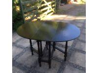 Vintage Oak Gate leg Table