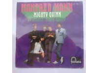 1960s record,,,, manfred mann mighty quinn...