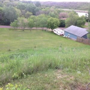 Double lot for sale at Glen Harbour - Last Mountain Lake