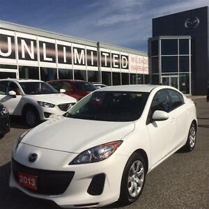 2013 Mazda Mazda3 **SUPER CLEAN WHITE & RARE MANUAL**