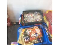 1000,S OF PACKS OF CRAFT ITEMS - BOOTSALE STUFF NEW PACKAGED TAKE AWAY TODAY