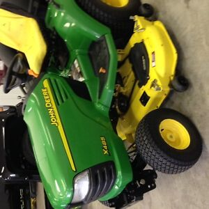 X485 John Deere Ride Lawnmower