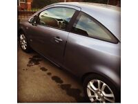 Vauxhall Corsa for sale - low mileage and one year MOT, original alloys and spare tyre