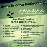 Sign up today for your SEASONAL LAWN CARE SERVICE!!!