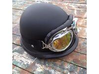 Steampunk/LARP helmet and goggles