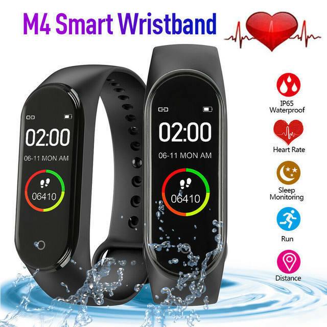 Smart Band Watch Bracelet Wristband Fitness Tracker Blood Pr