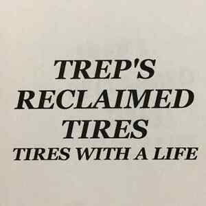 HIGH TREAD RECLAIMED TIRES WITH A GUARANTEE