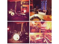 Music Rehearsal Room for Bands in Manor House.