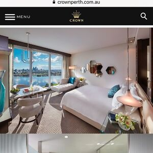 CROWN TOWERS PERTH premium king room 3 nights West Perth Perth City Area Preview