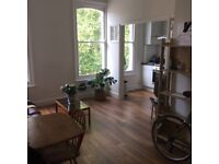 Light and airy, one bed, first floor flat in a period conversion close to Church Street, N16.