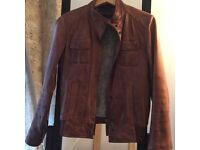 Brown Womens Leather Jacket