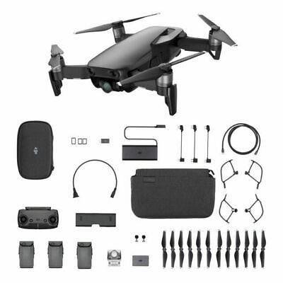 DJI Mavic Air Fly More Combo - Foldable, Portable Drone - Onyx Black - W/ EXTRAS