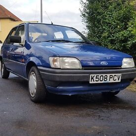 mk3 ford fiesta 1993 not xr2i rs1800 rs turbo