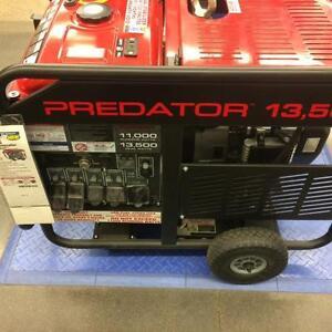 new 13500 Peak/11000 Running Watts, 22 HP (670cc) predator Gas Generator